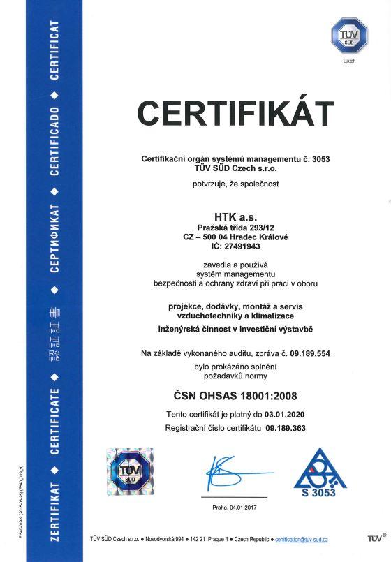 ČSN EN ISO 18001:2008